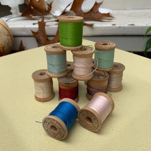 VINTAGE Belding-Corticelli Wooden Spools
